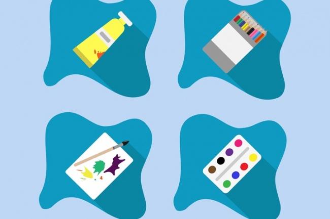 Создам пакет иконок 5 - kwork.ru