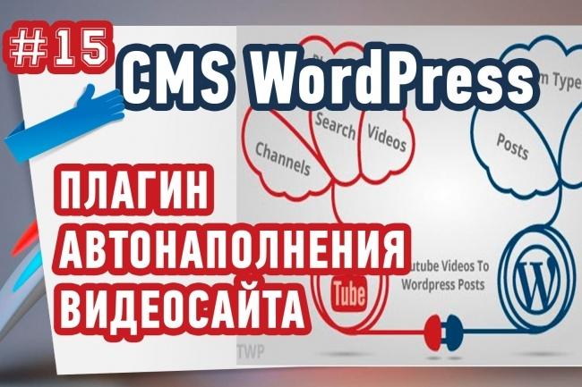 Отличный плагин для быстрого создания собственного видео сайта 1 - kwork.ru