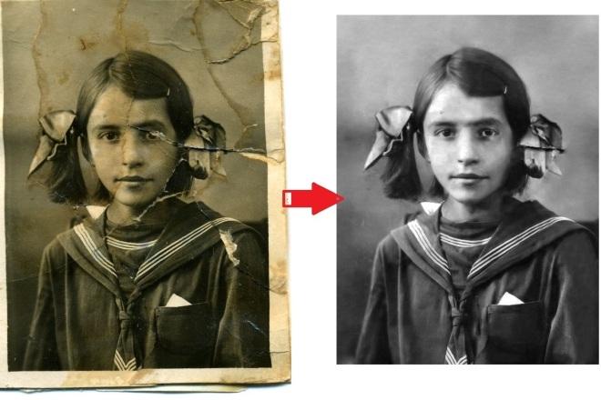 Восстановление и реставрация старых фотографий 4 - kwork.ru
