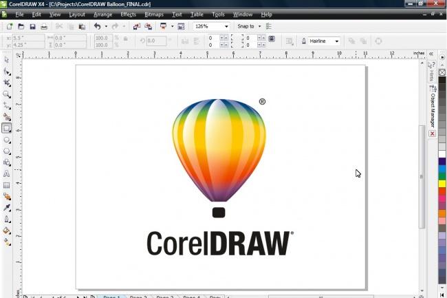 Работа в Corel Draw 29 - kwork.ru