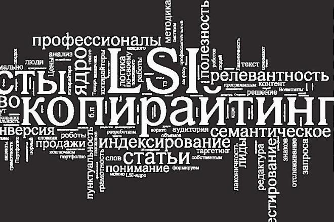 Уникальная маркетинговая статья, продающий текст, LSI 1 - kwork.ru