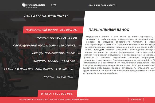 Верстка любой сложности из PSD макета или Sketch на CMS 15 - kwork.ru