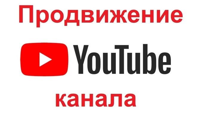Комплекс продвижения для ваших видео на YouTube 1 - kwork.ru