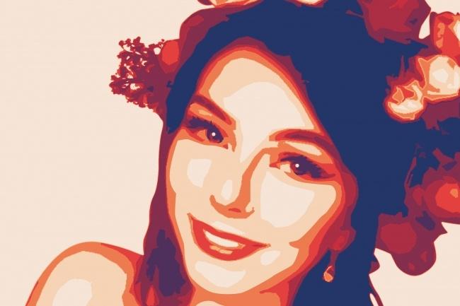 Портрет в стиле Че 2 - kwork.ru