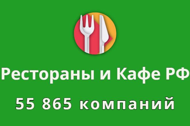 Рестораны и бары РФ, 55 865 компаний 1 - kwork.ru