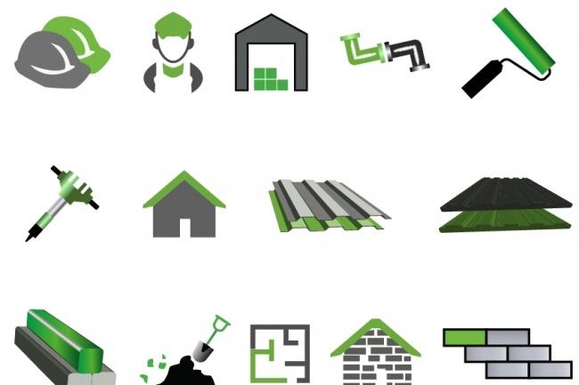 Нарисую 6 иконок в любом стиле 52 - kwork.ru