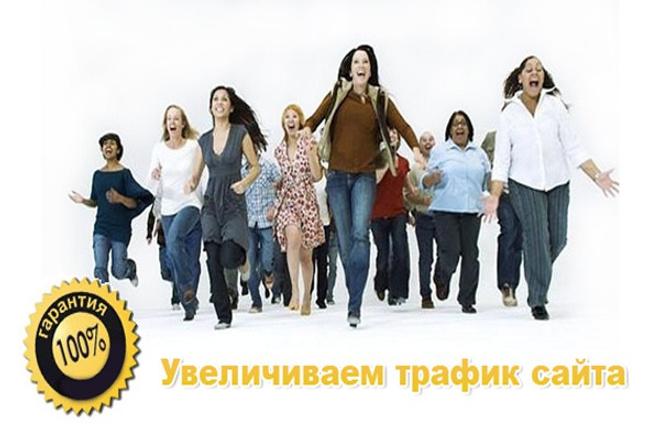 100 уникальных посетителей на Ваш сайт в течение 6 дней 1 - kwork.ru