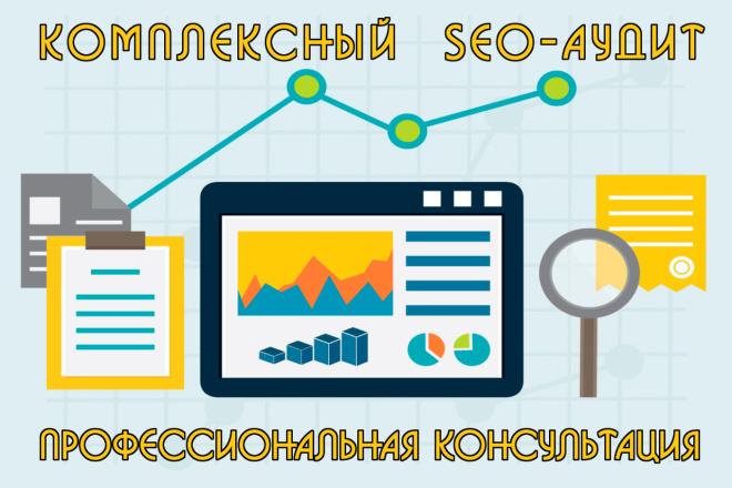 Профессиональный SEO и технический аудит сайта, ручной 1 - kwork.ru