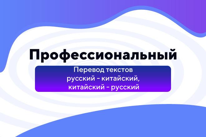 Перевод текстов русский - китайский, китайский - русский фото