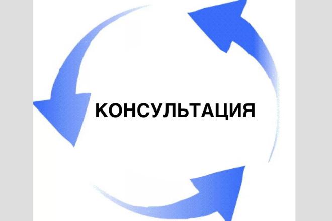 Консультация перед открытием и уже открытых ИП, ООО 1 - kwork.ru