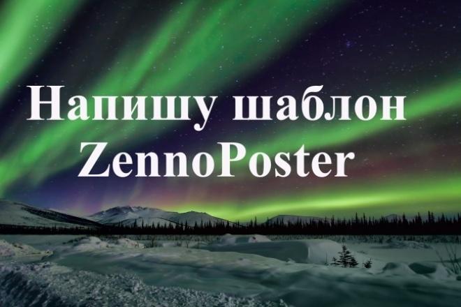 Напишу шаблон ZennoPoster 1 - kwork.ru