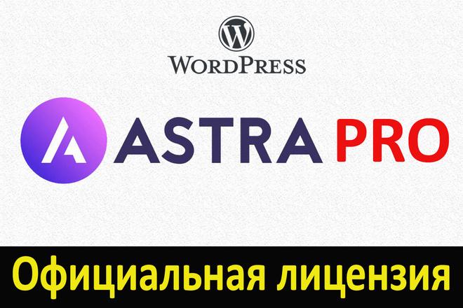 Лицензионная тема Astra PRO + жирный бонус 1 - kwork.ru