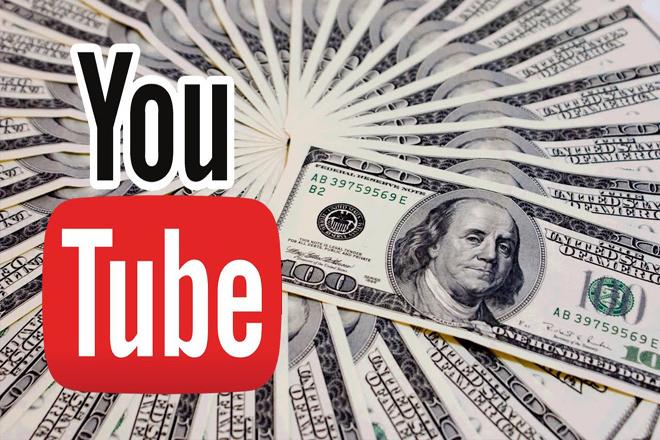 Видеокурс Как монетизировать YouTube - канал 1 - kwork.ru