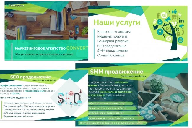 Создание презентации Power Point 23 - kwork.ru