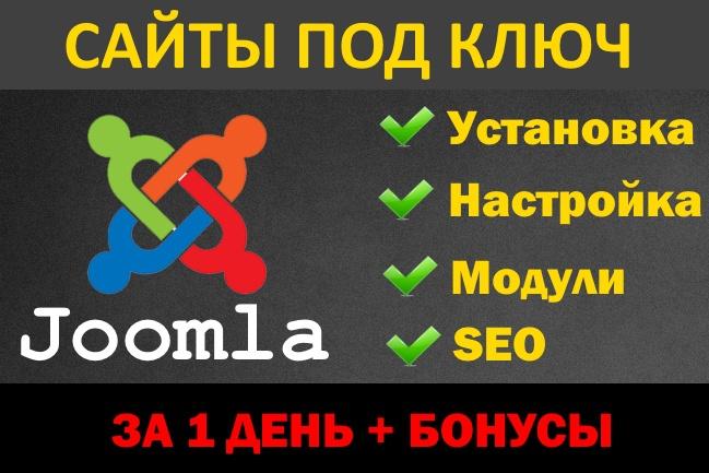 Cайт на Joomla. Визитка, магазин, инфосайт 6 - kwork.ru