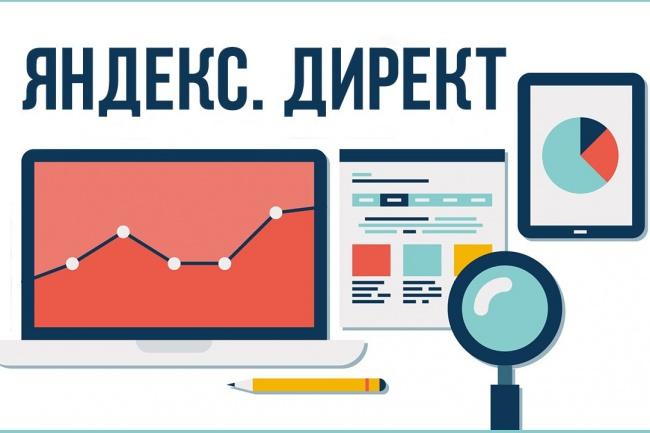 Создам эффективную и рабочую кампанию в Яндекс Директ на Поиске 1 - kwork.ru