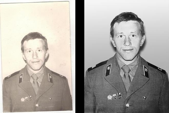 Реставрация старых фотографий 5 - kwork.ru