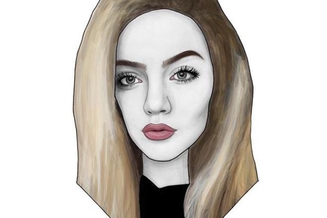 Сделаю арт портрет 2 - kwork.ru