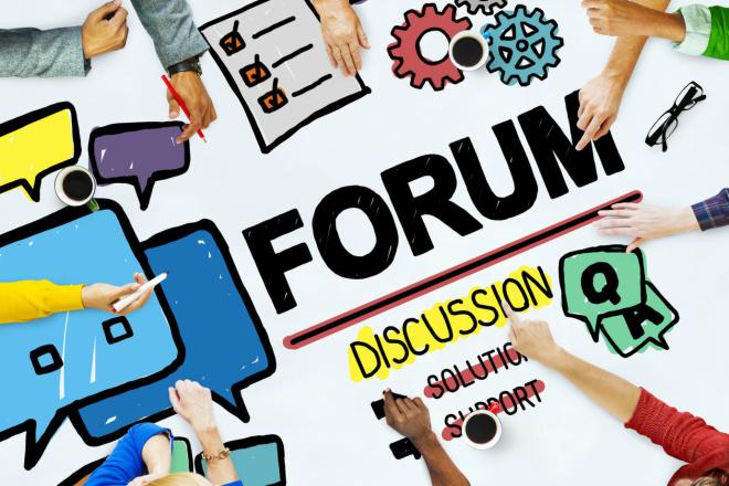 Форумные ссылки - ручное размещение, любые тематики 1 - kwork.ru