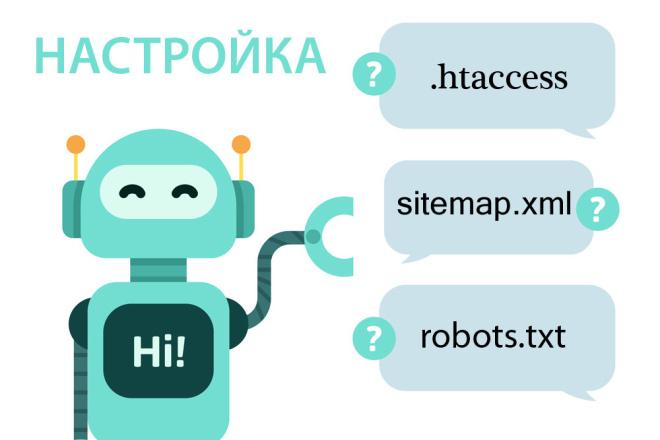Настрою robots.txt, sitemap.xml, . htaccess 1 - kwork.ru