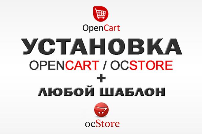 Разверну интернет-магазин на OpenCart OcStore+ установлю к нему шаблон 47 - kwork.ru