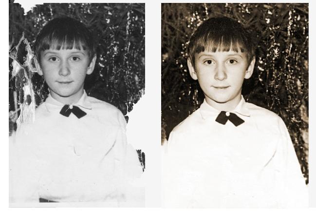 Ретушь, реставрация и восстановление старинных фотографий 2 - kwork.ru