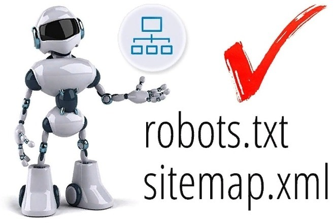 SEO-файлы для WordPress - robots.txt и sitemap.xml 1 - kwork.ru