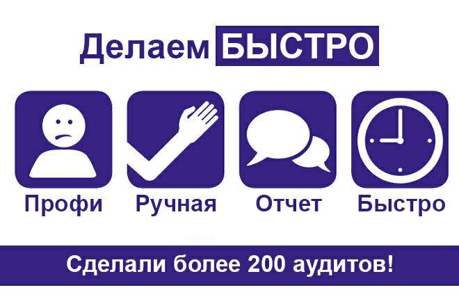 За 24 часа - быстрый юзабилити аудит сайта 1 - kwork.ru