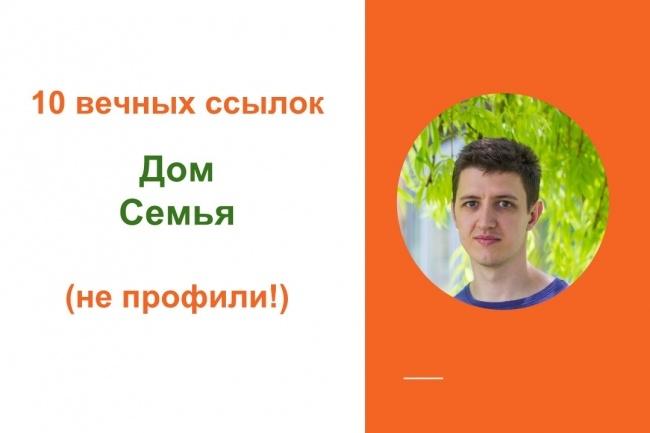 Качественные ссылки с форумов тематики дом, семья 1 - kwork.ru