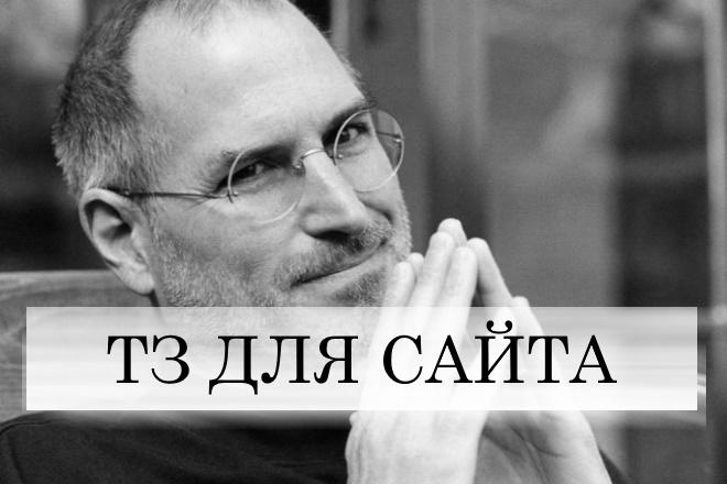 ТЗ для сайта на разработку программисту. Помогу с любым заданием 1 - kwork.ru