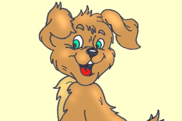 Собака из сказки картинки для детей