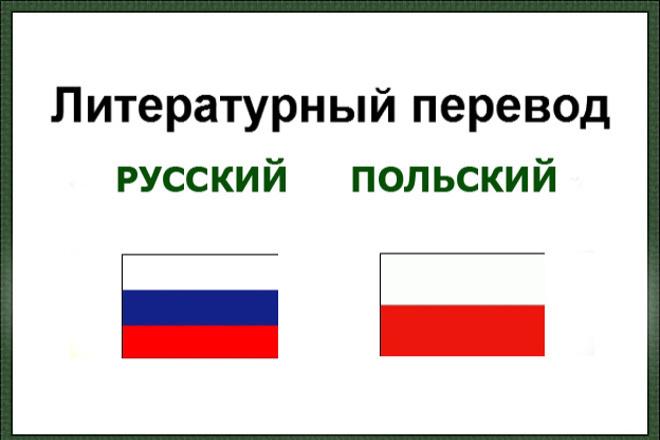 Переведу текст с русского на польский язык 1 - kwork.ru