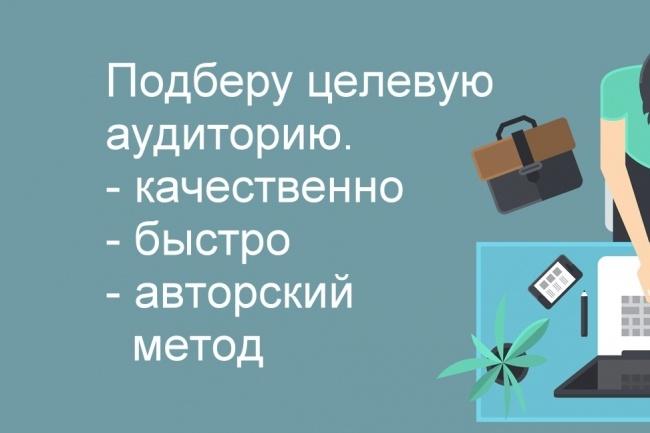 Парсинг целевой аудитории вконтакте -таргетинг 1 - kwork.ru