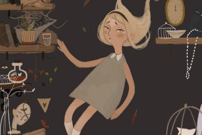 Иллюстрации для детской книги 6 - kwork.ru