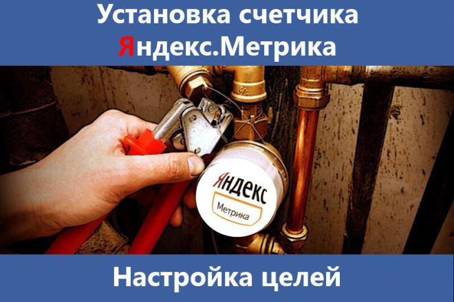 Установка Яндекс. Метрики и настройка целей 1 - kwork.ru