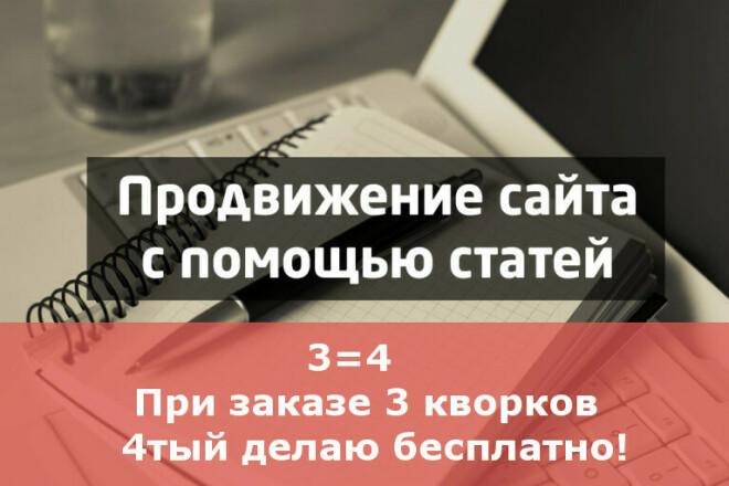 Статейный прогон по 40 сайтам. Блоги, форумы, дневники 1 - kwork.ru