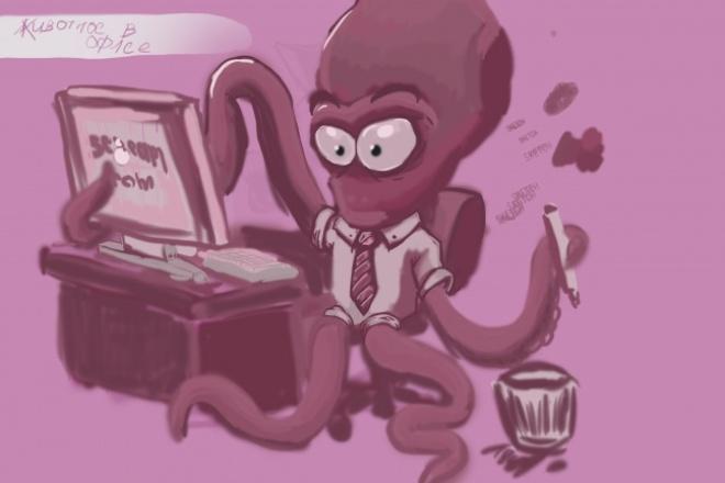 Нарисую иллюстрацию 2 - kwork.ru