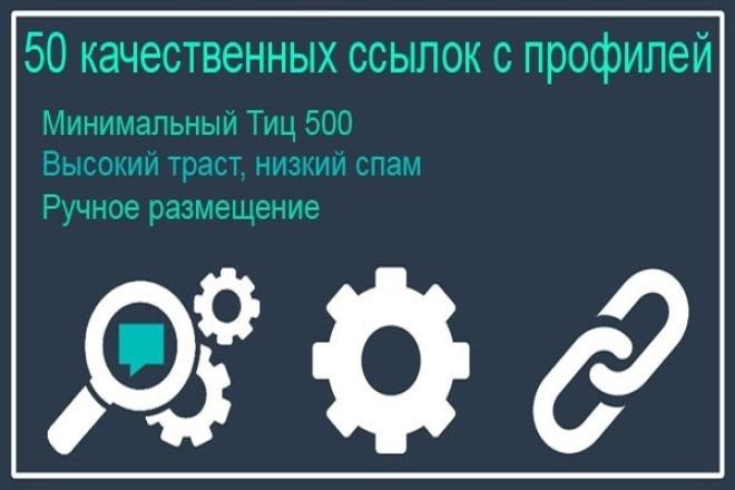 Качественные ссылки для продвижения сайта. Общий ТИЦ 40000 1 - kwork.ru