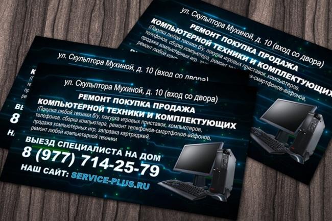 Создание визитки 7 - kwork.ru