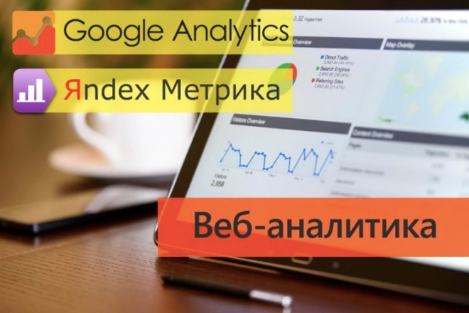 Настрою 5 целей в Google Analytics 1 - kwork.ru