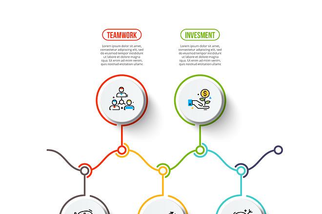 2800 шаблонов для создания инфографики 22 - kwork.ru