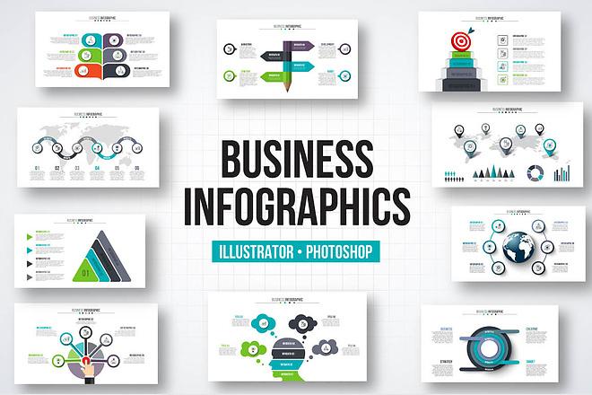 2800 шаблонов для создания инфографики 25 - kwork.ru