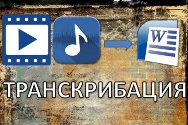 Сделаю грамотный перевод вашего аудио, видео в текст 1 - kwork.ru