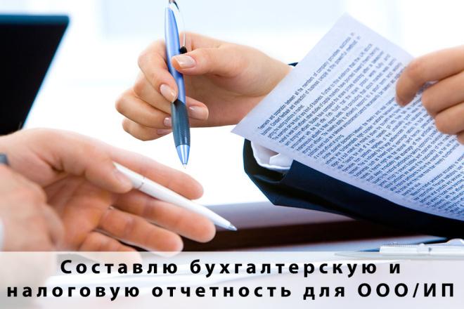 Составлю бухгалтерскую и налоговую отчетность для ООО или ИП 1 - kwork.ru