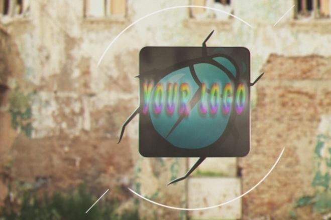 Заставка для вашего канала или сайта, intro 2 - kwork.ru