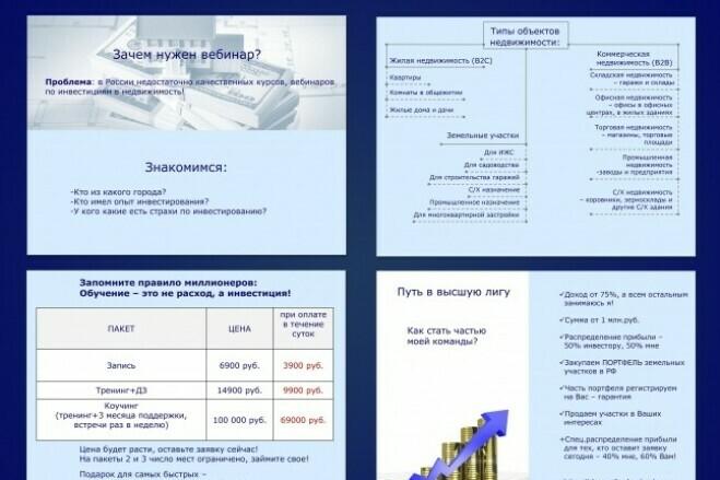 Презентации в Power Point для любых целей 5 - kwork.ru