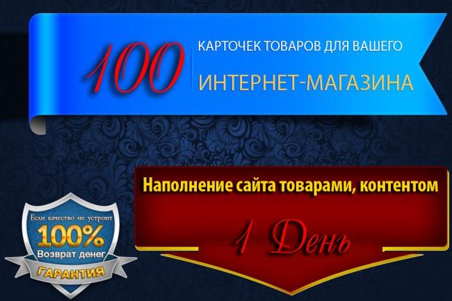 100 карточек товаров для Вашего магазина 1 - kwork.ru