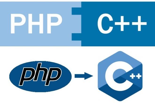 Напишу С++ расширение по Вашему PHP классу 1 - kwork.ru