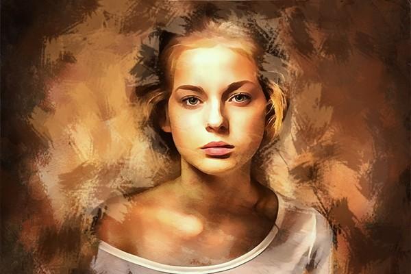 Создам стилизованный цифровой портрет 28 - kwork.ru