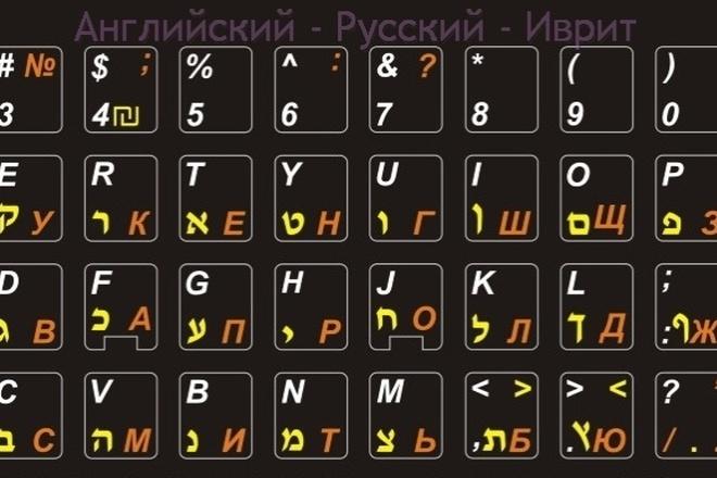 Переводы с иврита на русский, с русского на иврит 1 - kwork.ru